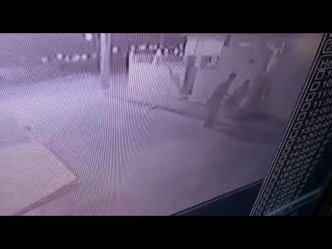 Assalto é flagrado por câmeras de segurança em Ruy Barbosa