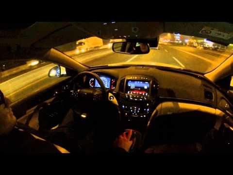 Insignia 1.6 CDTI Test ve VLOG Ankara (aktif cruise control demo)