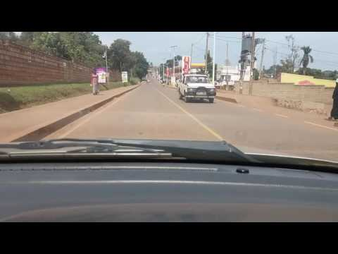 Drive through Kampala City