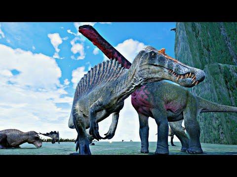 The Isle #89 - Arena de Titans! DeathMatch a Maior Batalha de 20 Dinossauros do Mundo!