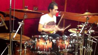 Drums Test By Jung Drum At E.q.studio