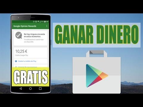 GANAR DINERO de GOOGLE PLAY GRATIS 2016 / 2017