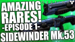 Destiny: Amazing Rare Weapons #1 - The Sidewinder Mk.53 Shotgun (PvP) Better Than Felwinter