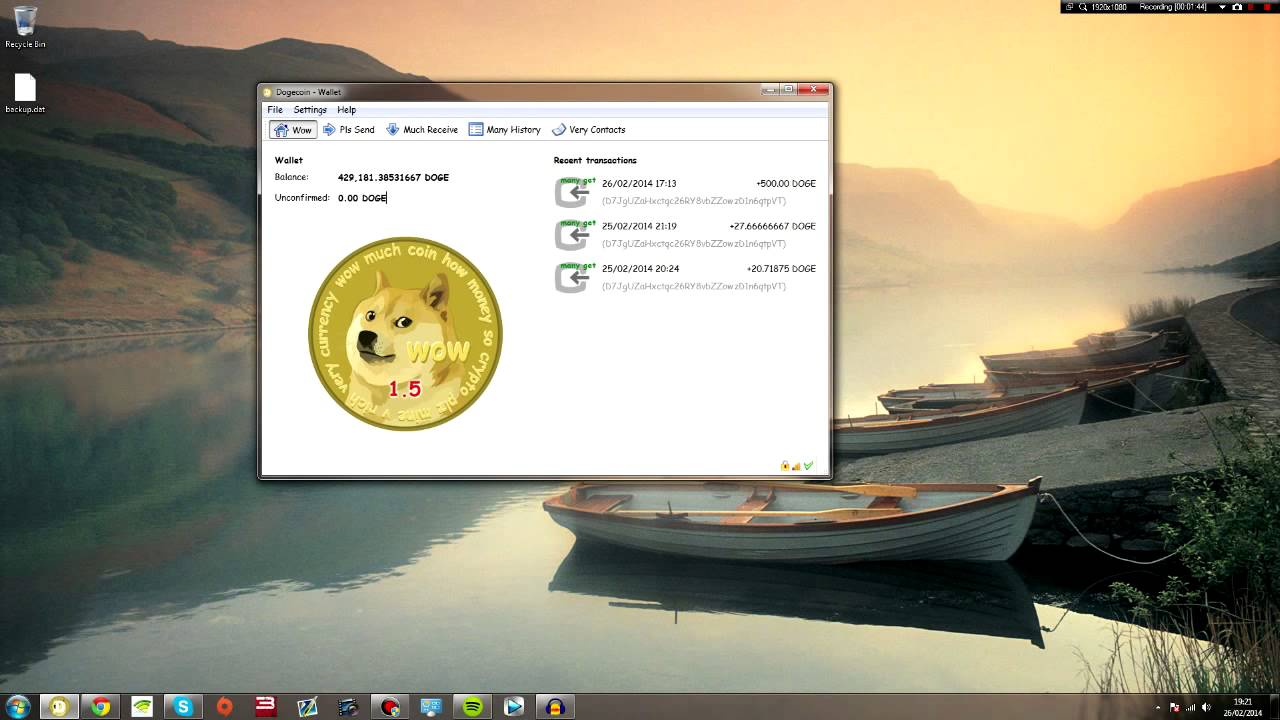 How To Backup and Restore Your DogeCoin Wallet Safely and Securely ...