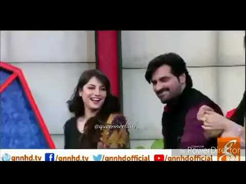 Humayun Saeed Dancing On Pushto Song With Neelam Muneer
