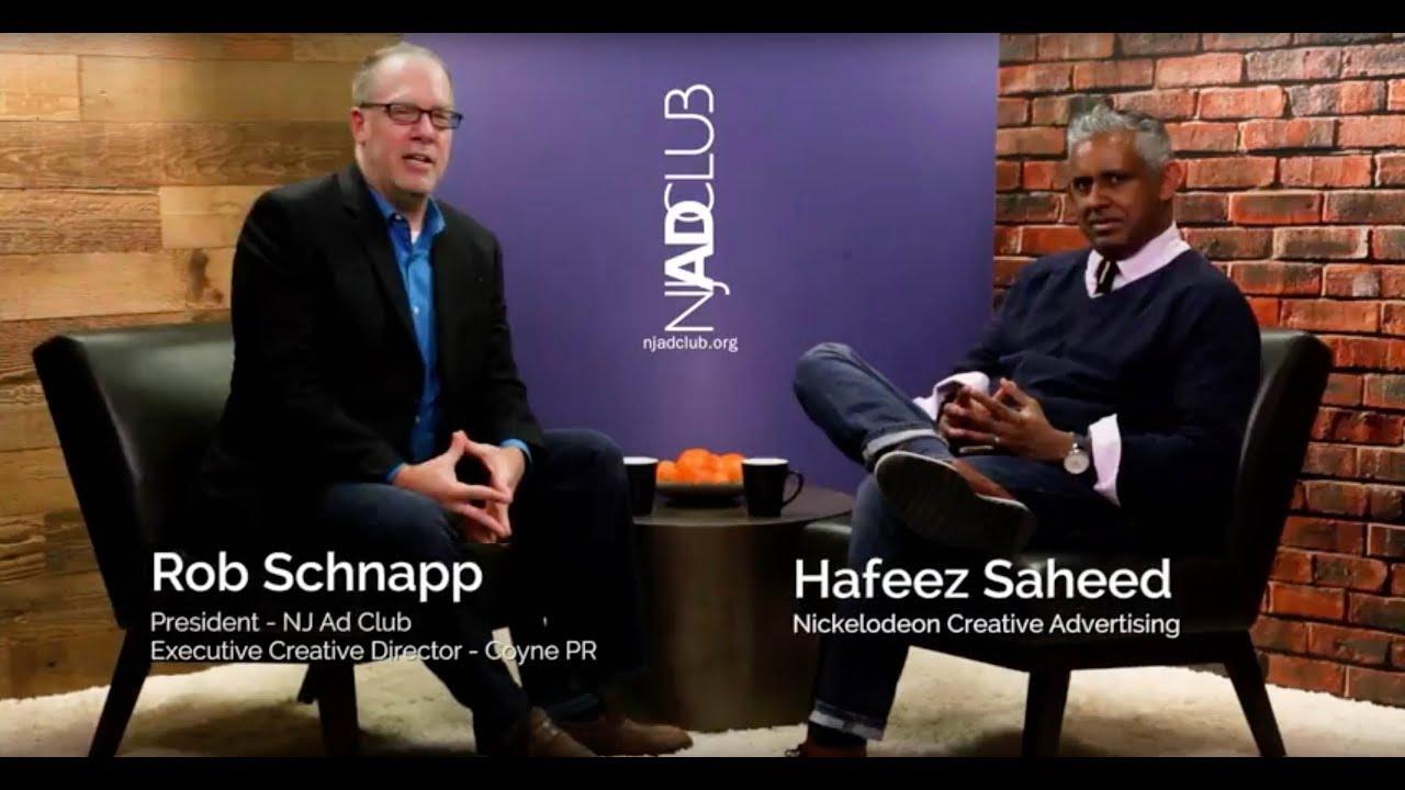 NJ Ad Club Professional Spotlight Series - Hafeez Saheed - NICKELODEON CREATIVE ADVERTISING