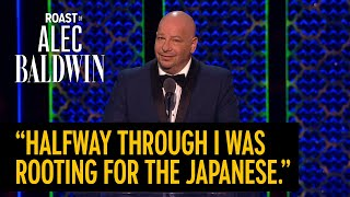 Jeff Ross roast - COMEDY CENTRAL ROAST OF ALEC BALDWIN
