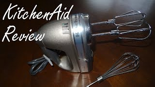 KitchenAid Review - KitchenAid Architect Hand Mixer Review