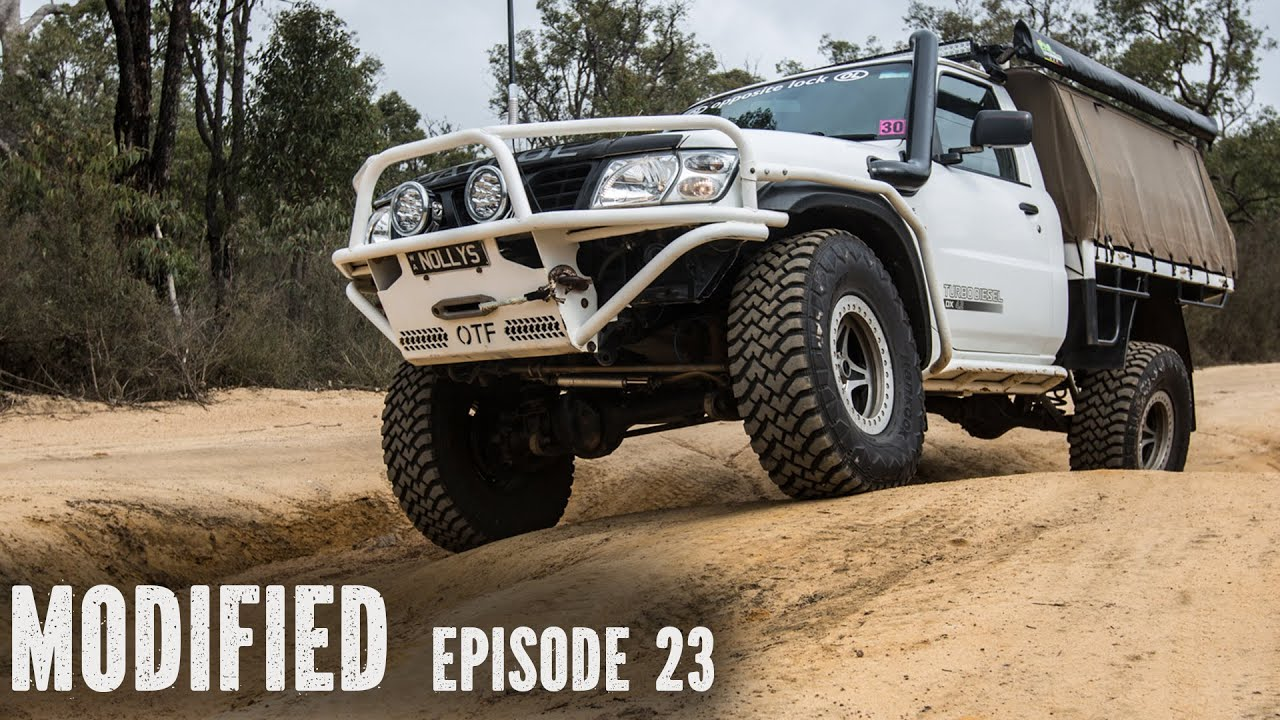 Nissan GU Patrol Ute V8, Modified Episode 23 - YouTube