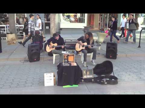 Amazing Dual Guitarist - 3rd Street Promenade Santa Monica