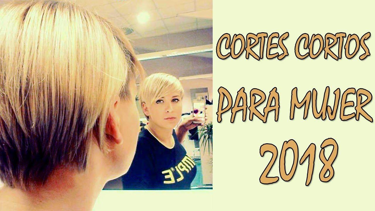 CORTES CORTOS PARA MUJER 2018 💛 CORTES DE PELO CORTO PARA MUJER ...