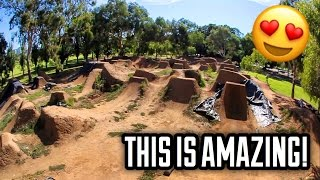 DIRT JUMPS IN THE MIDDLE OF A CITY!