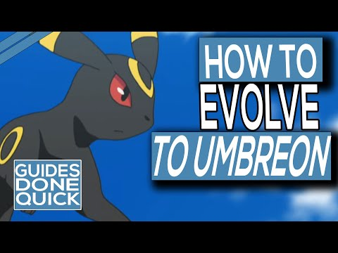 How To Evolve Eevee Into Umbreon In Pokemon Sword & Shield