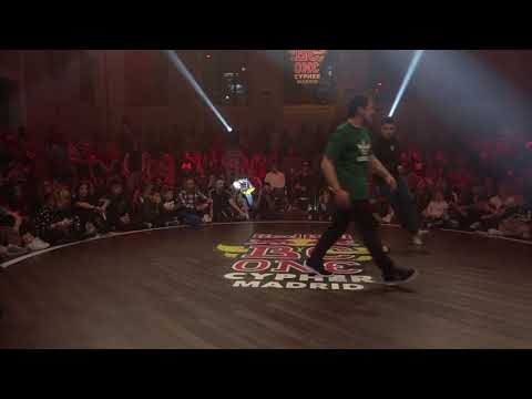 Red Bull BC One Cypher Spain 2018 | Final: Lil Dani vs. Guille