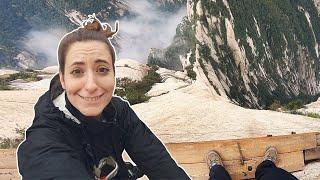 Most DANGEROUS Hike in the World: Huashan Plank Walk