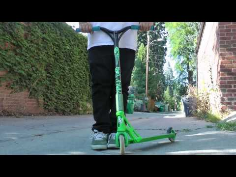 How To Tailwhip On A Scooter :: HD