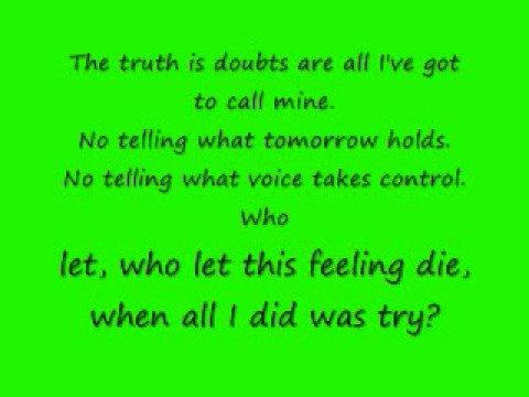 Duality by Bayside with lyrics