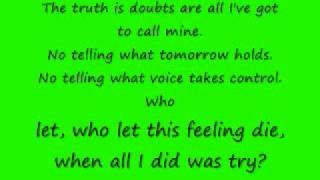 Duality by Bayside with lyrics