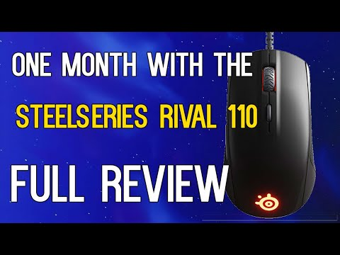 1 month with the Steelseries Rival 110 - My Full Review