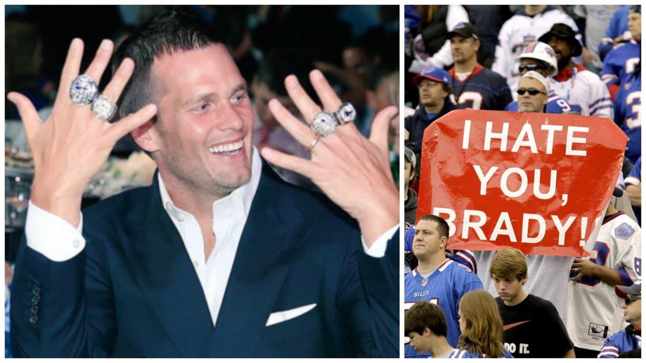 10 Reasons why People HATE Tom Brady - YouTube