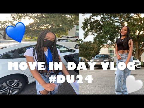 MOVE IN DAY VLOG || DILLARD UNIVERSITY '24