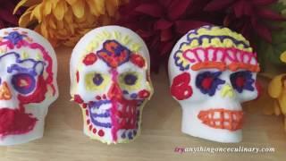 How to Make Sugar Skulls for Dia De Los Muertos