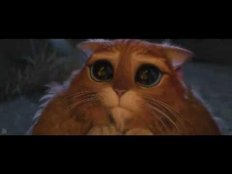 Puss In Boots Cute Eye Scene Shrek Forever After Youtube