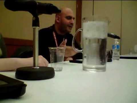Michael Benyaer - Calgary Comic and Entertainment Expo 2012
