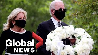Coronavirus outbreak: Former VP Joe Biden marks Memorial Day with 1st public appearance in 2 months