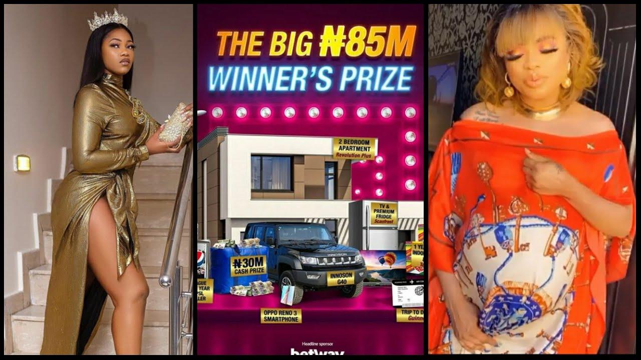 BBNAIJA SEASON 5 WINNER WINS 85 MILLION NAIRA! TACHA CONFIDENCE HAS NO ENVY! BOBRISKY IS PREGNANT