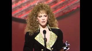 Reba McEntire Wins Top Female Vocalist - ACM Awards 1991