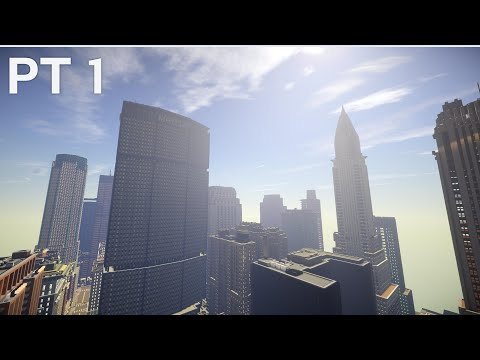 New York Minecraft Map Exploration (with Download Link) | Pt 1 HD