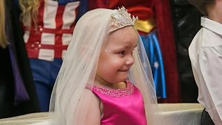 Terminally ill 5-year-old girl gets dream