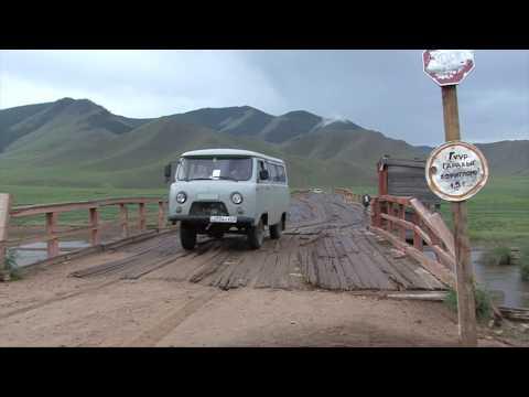 Adventurous river crossings in Mongolia