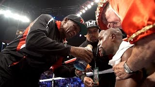 Mayweather in His Corner before Round 12   ALL ACCESS Epilogue Preview