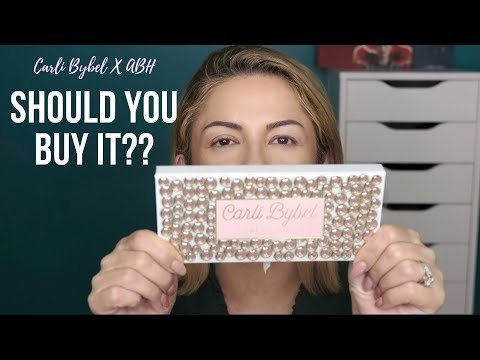 Carli Bybel X ABH: Should You Buy? Over 40 Palette Review!! thumbnail