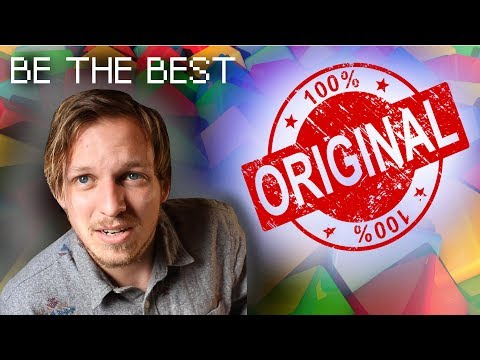 ON THE SUBJECT OF ORIGINALITY - Episode 1 (Knitting with Nathan) 100% ORIGINAL CONTENT