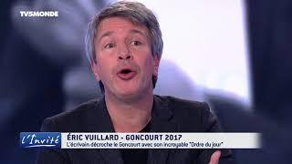 """Eric VUILLARD : """"Mon Goncourt pour l'histoire"""""""