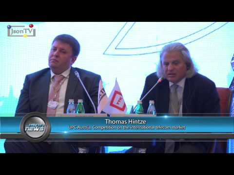 Vedomosti Telecom-2015 - Thomas Hintze, UPC: Competition on the international telecom market