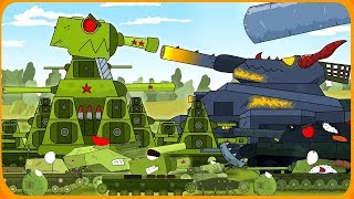 Tank Cartoon #30: SOVIET TANKS on Mars | Cartoon about Tanks