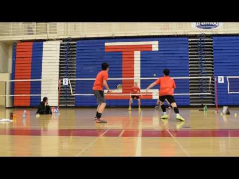 CCS BOYS DOUBLE FINALS- SARATOGA VS GUNN Game 1
