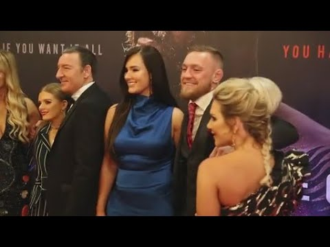 WATCH:'I am honoured and proud' Conor McGregor hits the red carpet at star studded world premiere