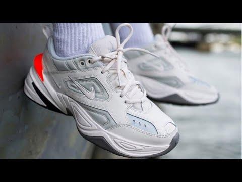 Nike M2K Tekno s (Review on foot) - YouTube 526b49e99