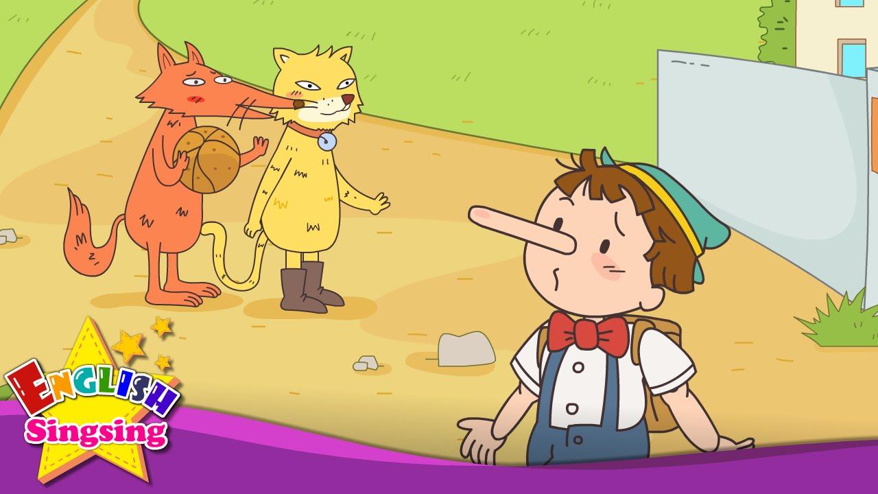 Resultado de imagen de Pinocchio - Let's play soccer. badminton. (Suggestion) - English cartoon story