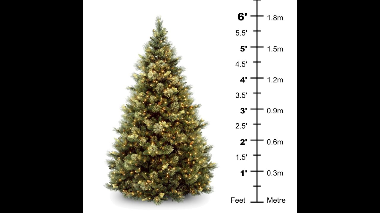 Artificial 6ft Christmas Tree