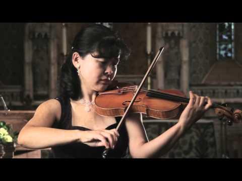 Bach Sonata No.1 for solo violin (1st movement - Adagio) - Miho Hakamata
