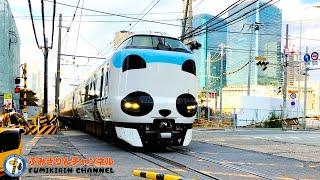 【Train】 Railroad Crossing video in Japan #18【scenery】