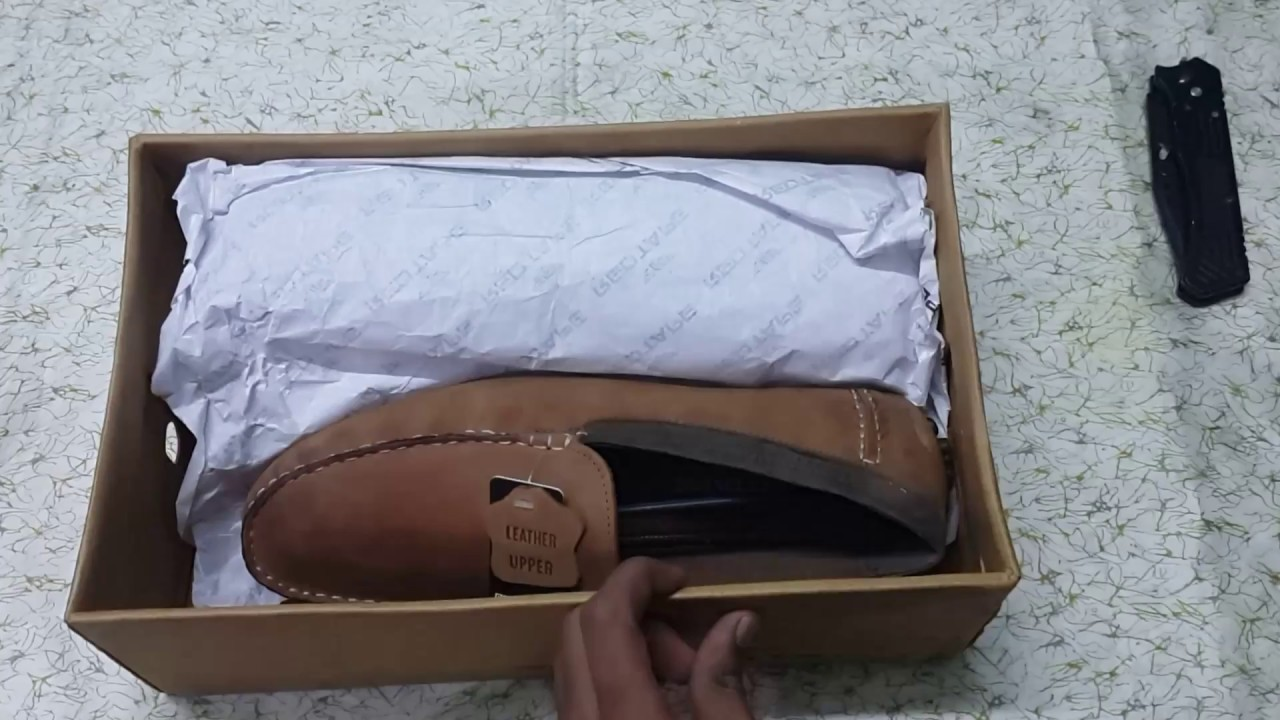 2956aa170d Red Tape tan loafers Unboxing. Recived a used shoe. Flipkart Scam ...