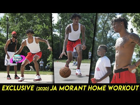 R.O.T.Y. Ja Morant Hometown Workout w/ His Dad Ft D-Nell Cowart, Russell Jones,Naseem Khaalid & DTap