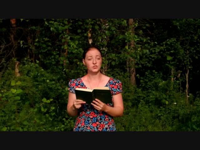 Изображение предпросмотра прочтения – ВалентинаУхалюк читает произведение «Не жалею, не зову, не плачу…» С.А.Есенина